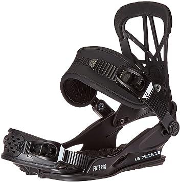401e2f97b64 2017 Union Flite Pro Snowboard Bindings - Black L XL  Amazon.co.uk  Sports    Outdoors
