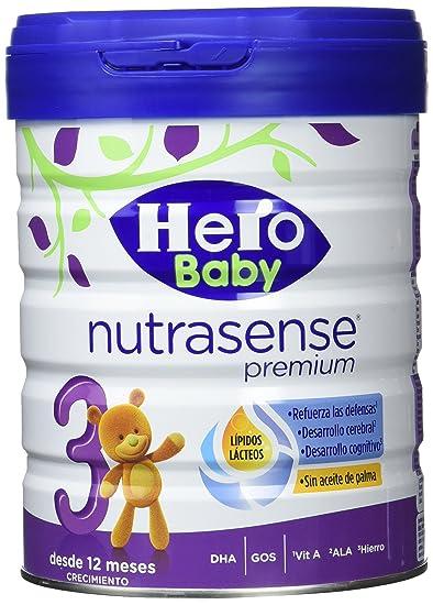 Hero Baby, Leche de crecimiento para bebé - 2 de 800 gr. (Total