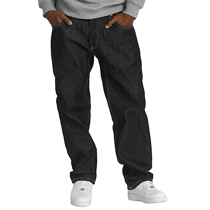 Ecko Unltd. Herren Loose Fit Jeans Gravity in schwarz