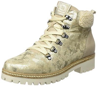 Waldläufer Hanako, Damen Kurzschaft Stiefel, Beige (Chantal Denver Dallas  Ecl Beige Corda natur 2251a484b1