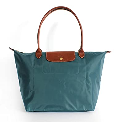 02863cd58b Amazon.com: Longchamp Large Shoulder Tote - Le Pliage - Mint - Versatile  Tote: Shoes