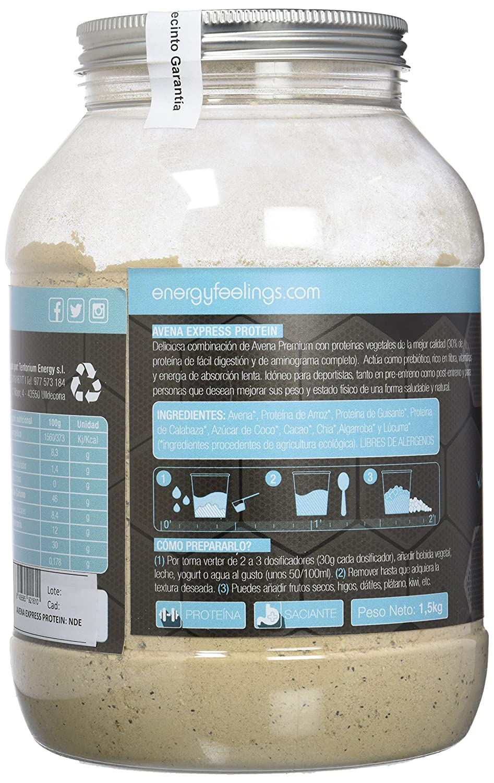 Energy Feelings Avena Express Protein control de peso - 1,5 Kg