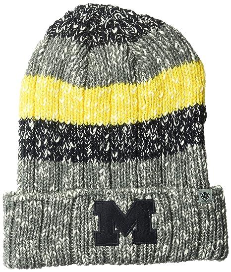 1b7e7b932a2c4 Top of the World NCAA Michigan Wolverines Men s Elite Fan Shop Winter Knit  Wonder Warm Hat