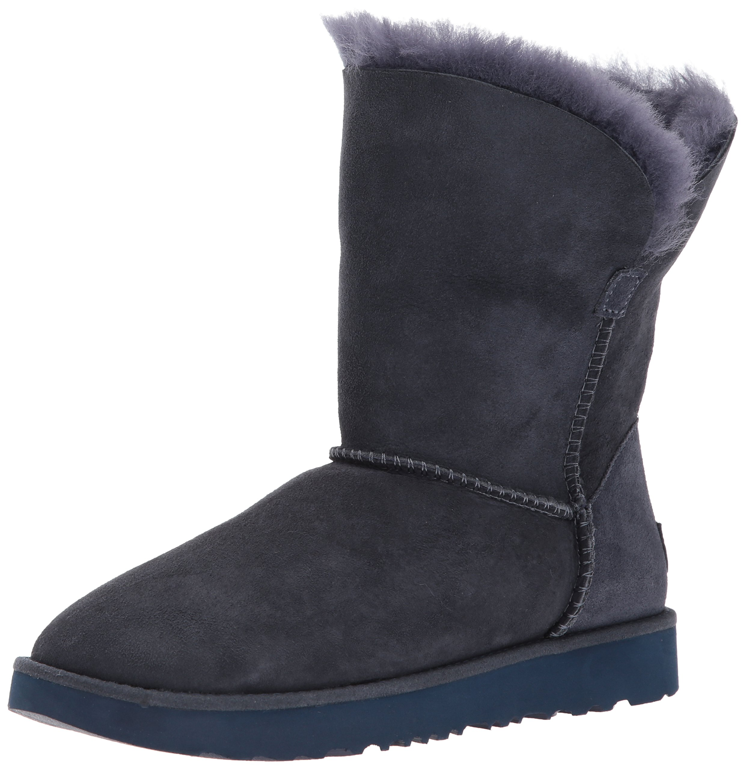 UGG Women's Classic Cuff Short Winter Boot, Imperial, 8.5 M US