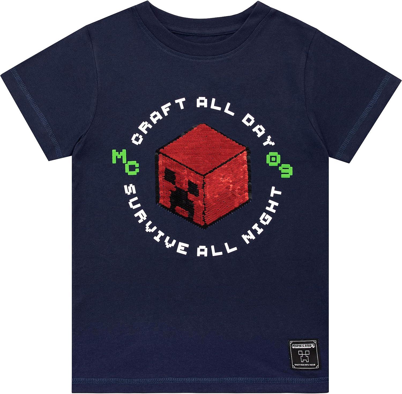 Minecraft Boys Creeper T-Shirt
