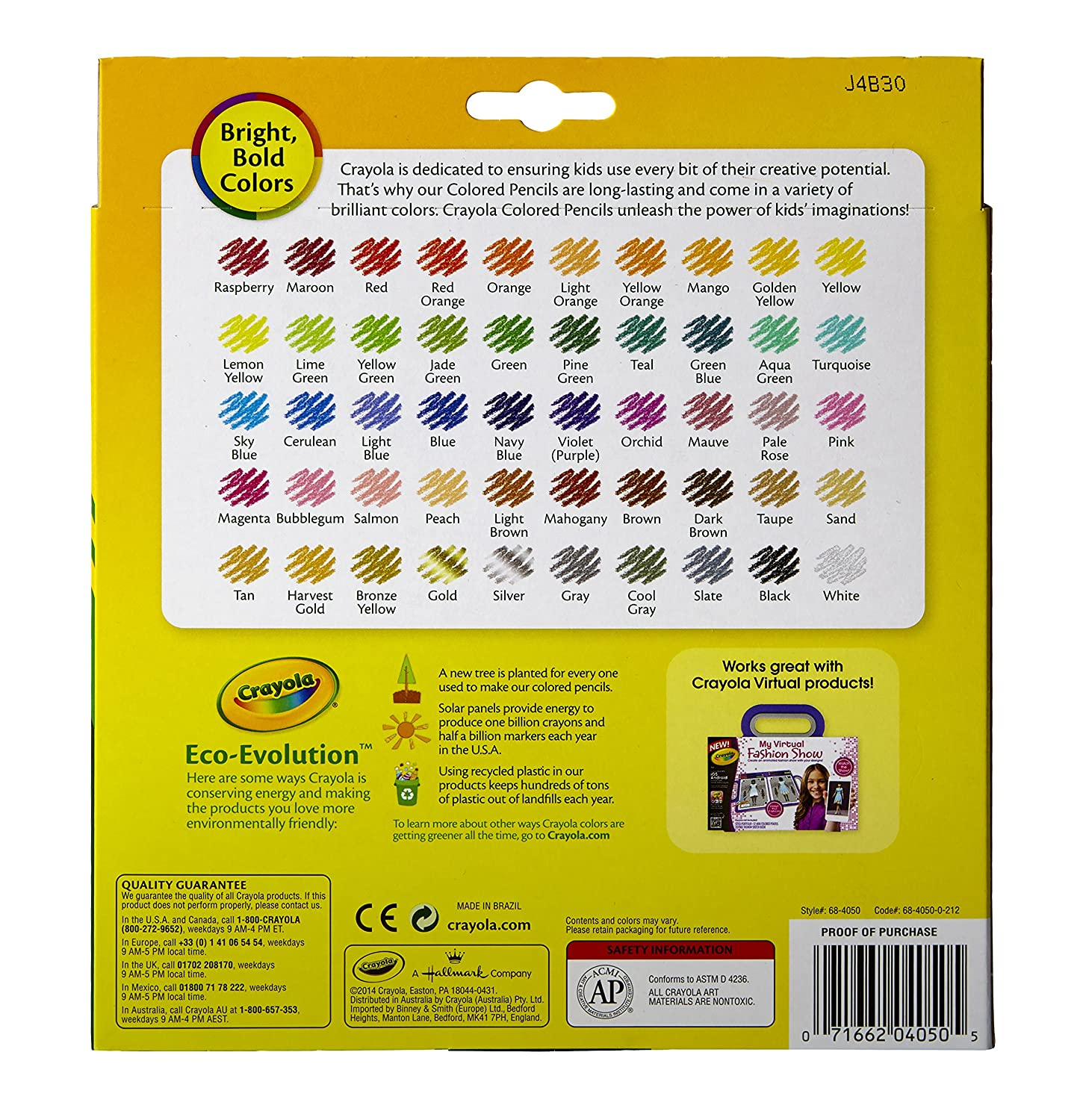 Crayola Colored Pencils Art Tools 50 Count Perfect for Art ...