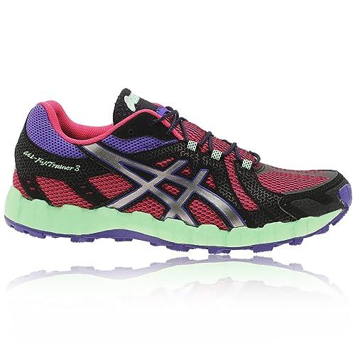 Asics Gel FujiTrainer - Zapatillas de Running para Mujer, Color Magen/L.Grey/Bl, Talla 40.5: Amazon.es: Zapatos y complementos