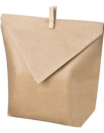 Juego de 24 bolsas de papel kraft para llenar uno mismo, para proyectos de manualidades