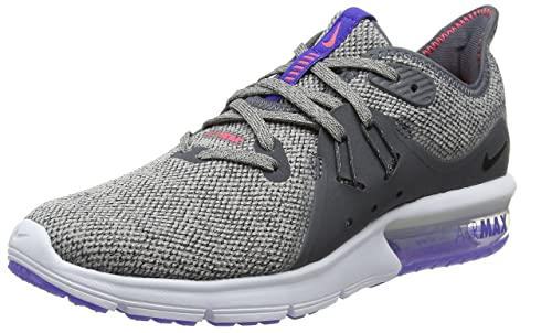 new product 5dd8f f63c5 NIKE Air Max Sequent 3, Scarpe da Corsa Donna, Grigio (DARK GREY