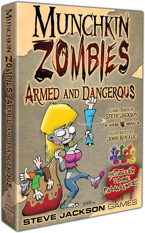 Steve Jackson Games sjg01494 – Juego de Cartas Munchkin Zombies ...