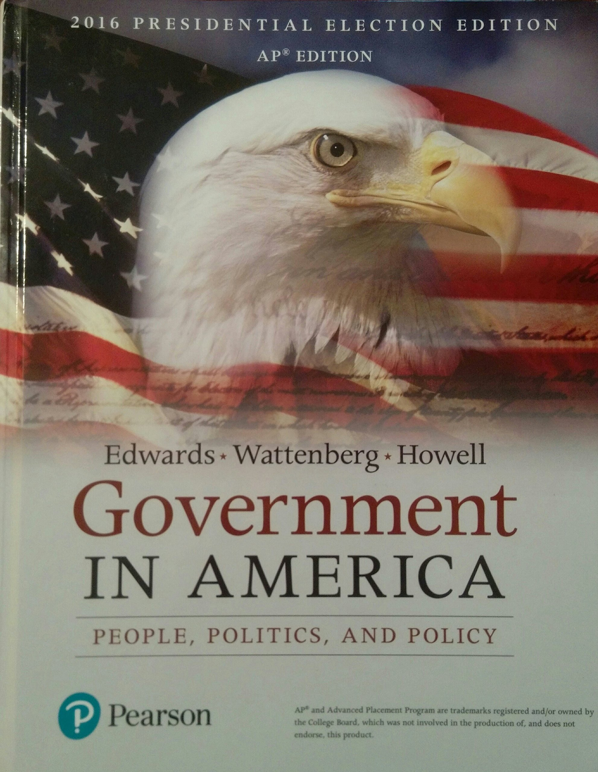 government in america 17th edition 2016