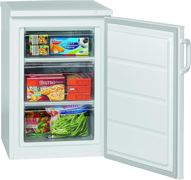 Bomann Vollraumkühlschrank VS 2185 weiß Amazon Elektro Großgeräte