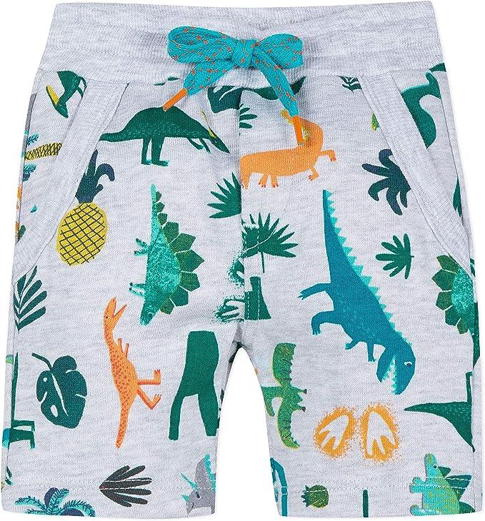 Catimini Patterned Fleece Bermuda Shorts