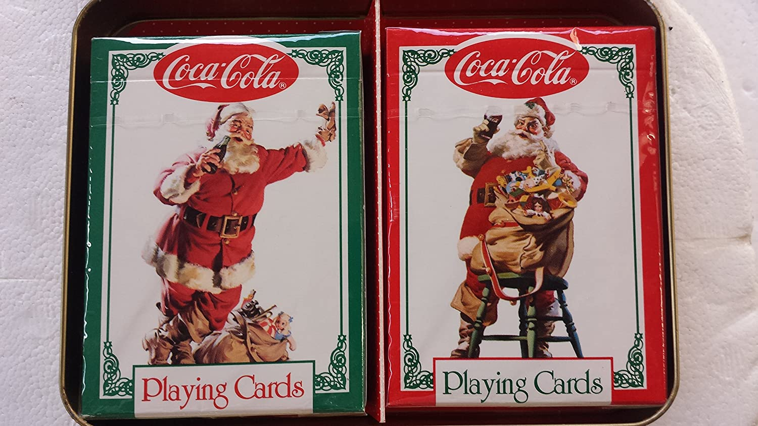 1994 Coca Cola Nostalgia Playing Cards