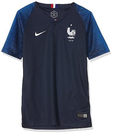 erikoismyynti lenkkarit halpaa paras palvelu NIKE 2018-2019 France Home Football Shirt (Kids)