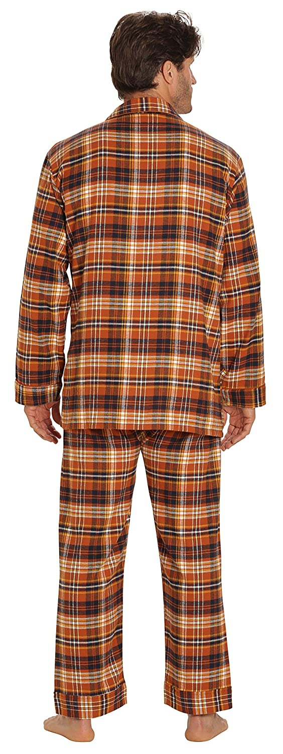 29f770bae EVERDREAM Sleepwear Mens Flannel Pajamas