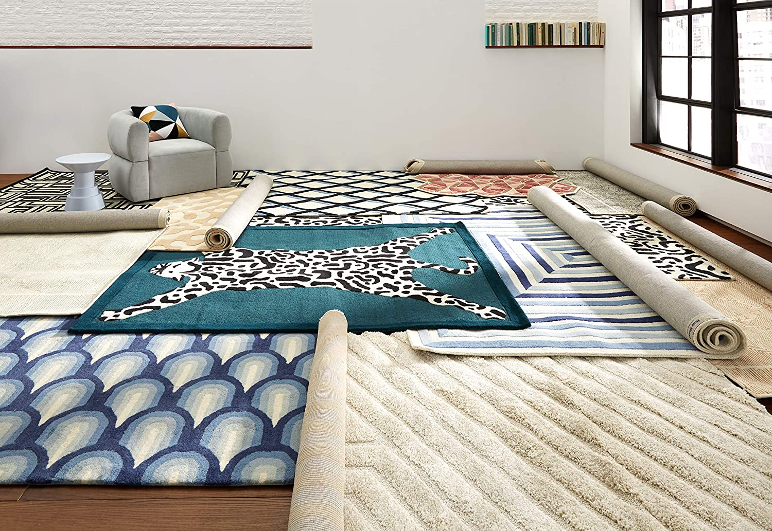 Now House by Jonathan Adler Matrix Collection Area Rug, 2'3