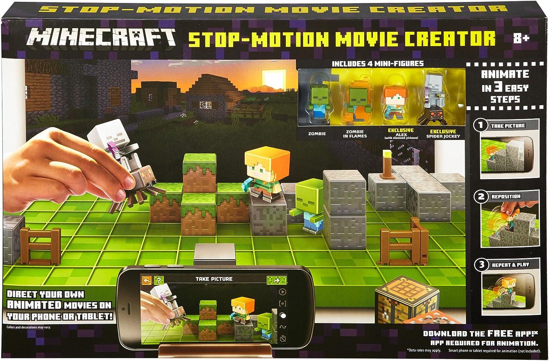 Minecraft Stop Motion Movie Creator by Mattel: Amazon.es: Juguetes y juegos