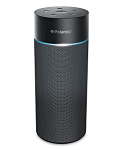 Polaroid PWF1002 Bluetooth Wireless Wi-Fi Speaker with Amazon Alexa Voice Control Connect with Smart Devices Far Field Voice Recognition