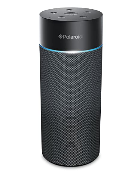 Alexa Bluetooth Speaker >> Amazon Com Polaroid Pwf1002 Bluetooth Wireless Wi Fi Speaker With