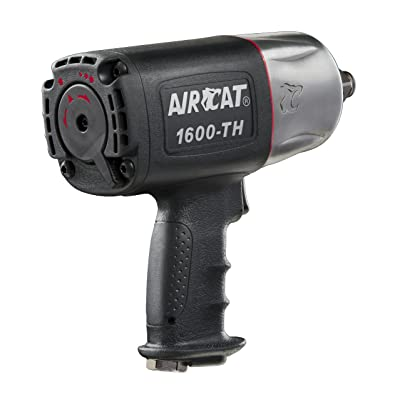 AirCat 1600-TH 3/4-Inch DR Composite Impact Wrench with Twin Hammer by AirCat Bricolage