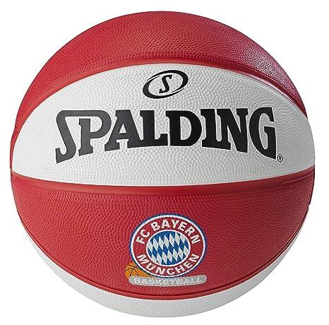 Spalding Basket Ball - Pelota de Baloncesto, Color Rojo, Talla 7