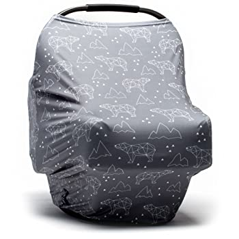 Moody Park- Nursing Cover, Baby Car Seat Cover