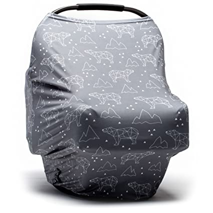Moody Park Baby - THe Best Canopy Baby Car Seat Cover