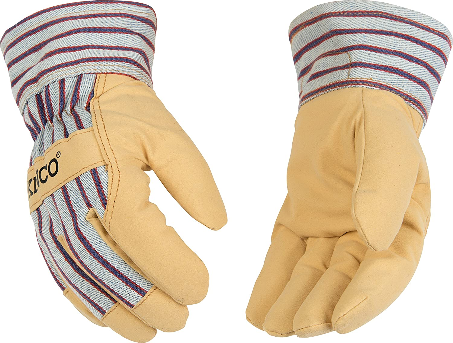Kinco 1927Y Thermal Heatkeep Lined Youth's Ultra Suede Cold Weather Glove, Work, 7 12 Ages (Pack of 12 Pairs) by KINCO INTERNATIONAL B00APL2KE8