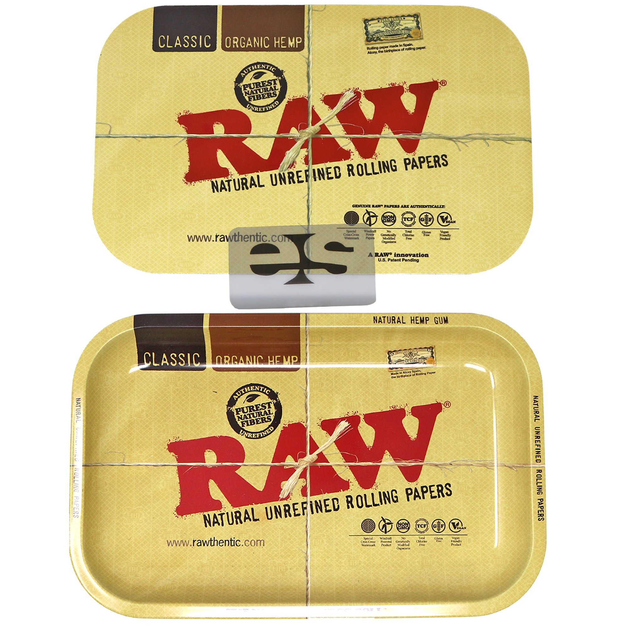 RAW Magnetic Small Tray Cover with Small RAW Tray Bundle by RAWTHENTIC