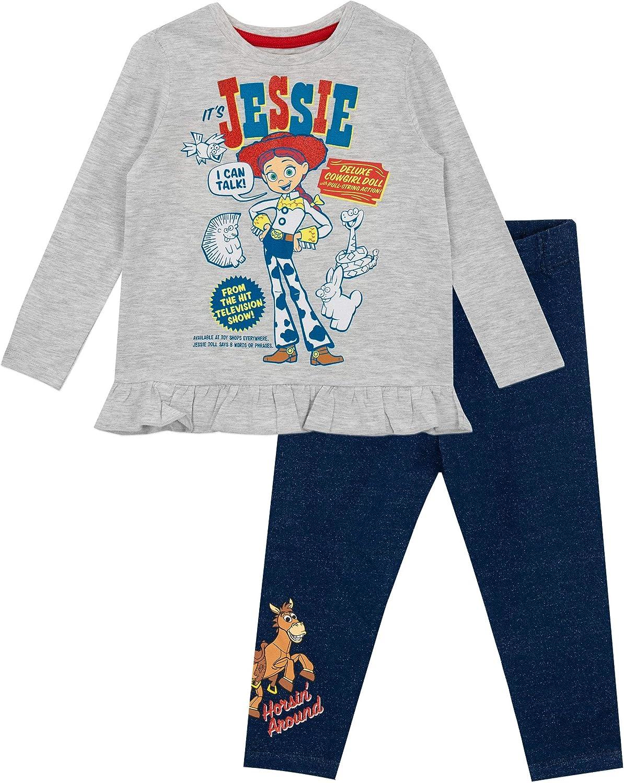 Disney Girls Top /& Leggings Set Toy Story