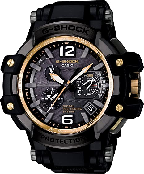 [カシオ] 腕時計 ジーショック グラビティマスター GPSハイブリッド電波ソーラー GPW-1000FC-1A9JF ブラック
