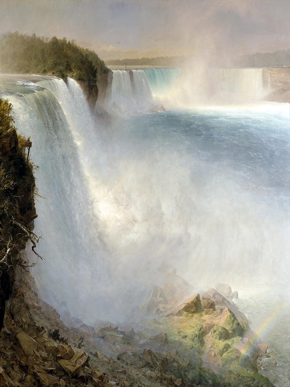 Niagara Falls waterfall F. Church Tile Mural Bathroom Backsplash ...
