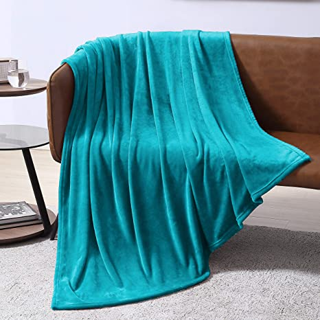 Fleece Blanket Throw Blanket for Couch or Bed Microfiber Fuzzy Flannel Blanket