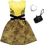 バービー ドレスファッションパック イエローとブラック