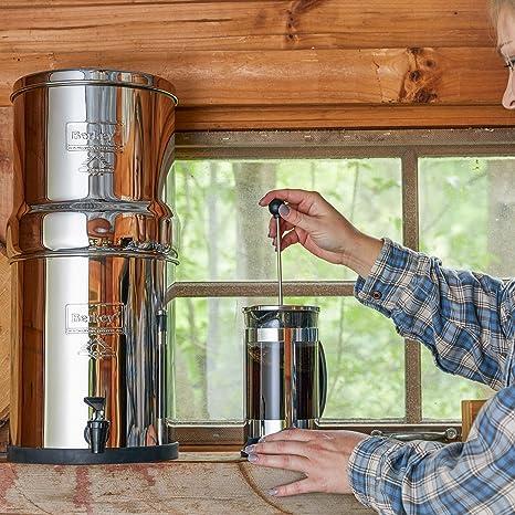 Royal Berkey purificadores de agua filtro + 2 Negro Elementos sistema de filtración de Reino Unido acero: Amazon.es ...