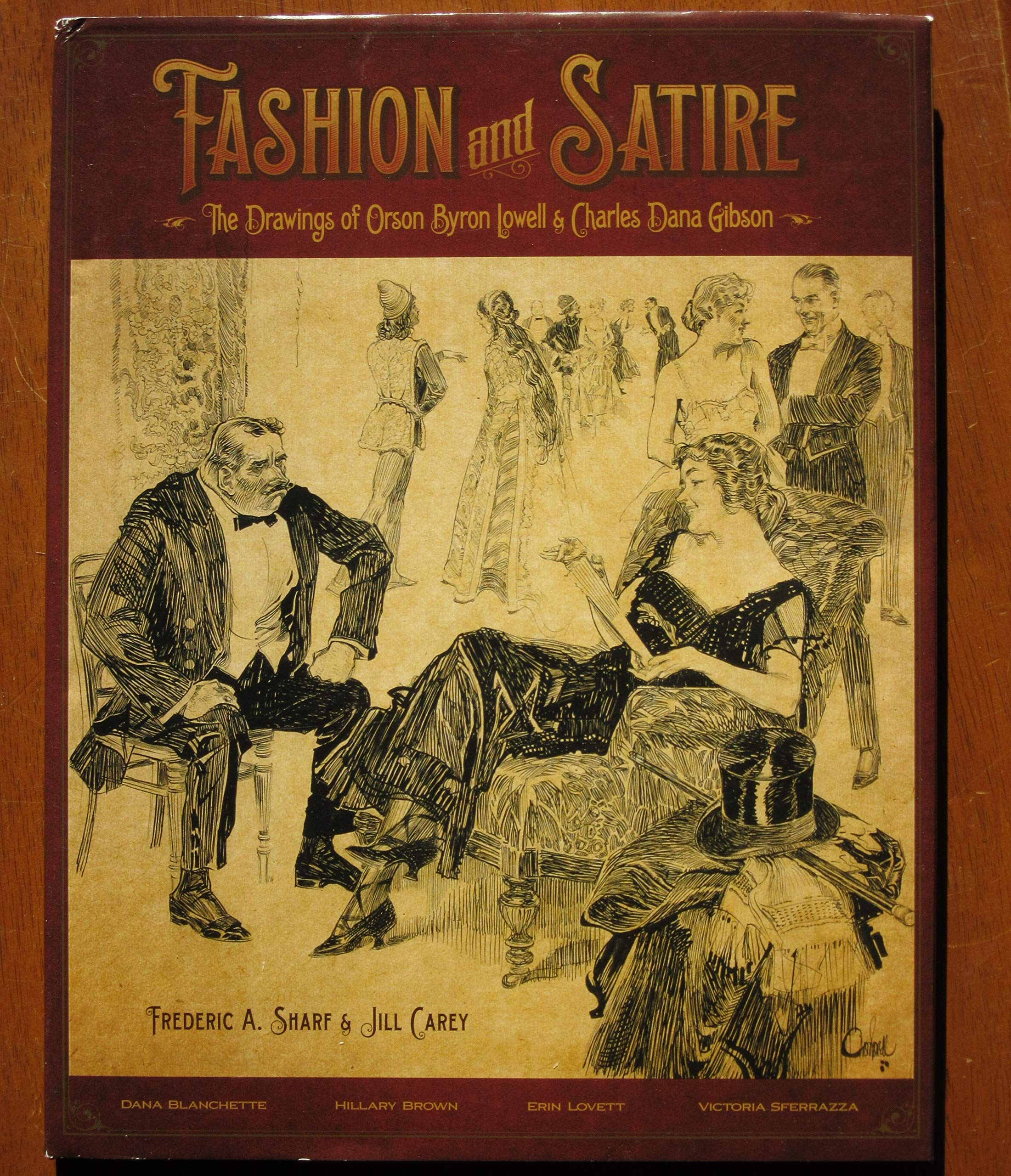 Fashion And Satire The Drawings Of Orson Byron Lowell Charles
