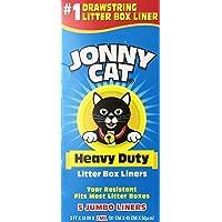 Deals on JONNY CAT Heavy Duty Litter Box Liners Jumbo 5 Liners