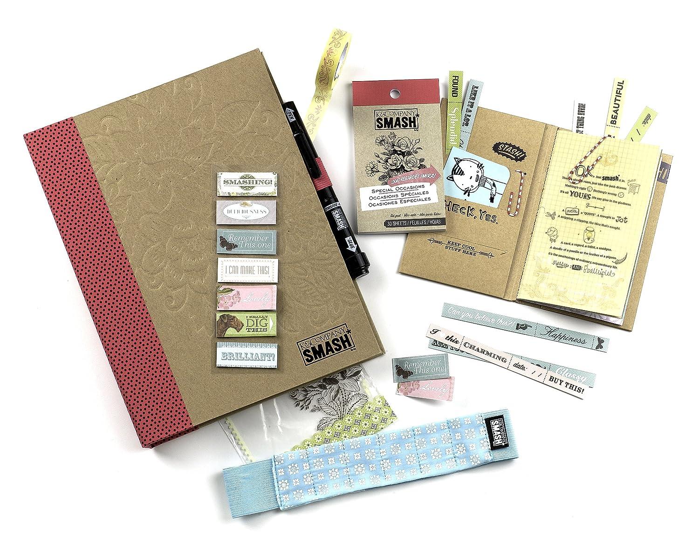 K& CompanySmash Scrapbook Folio Gift Pack, Blue 30-671775