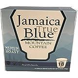 Genuine TrueBlue Jamaica Blue Mountain Coffee K-Cups for Keurig 18 ct