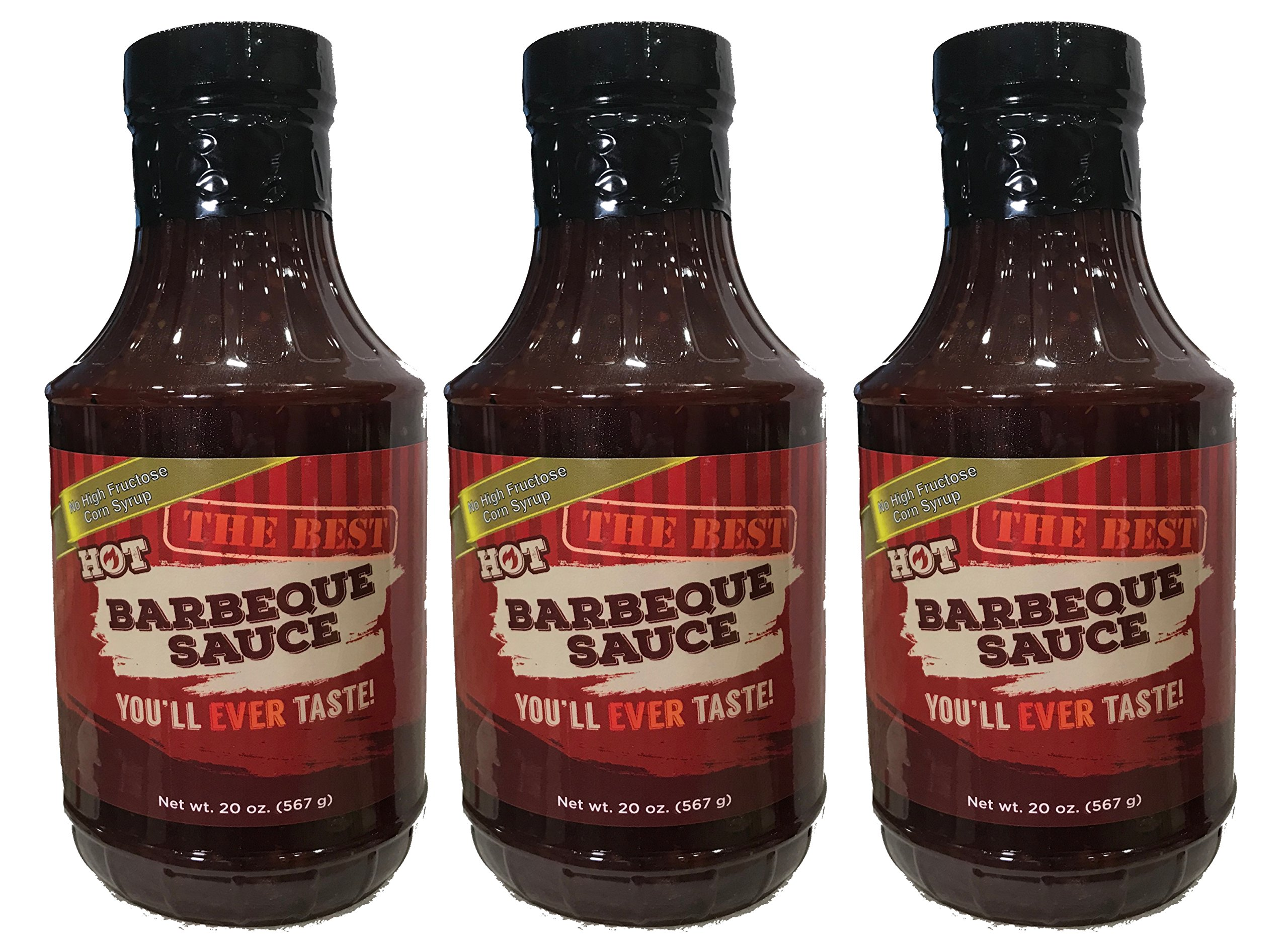 The Best Hot BBQ Sauce You'll Ever Taste (3 pack) by GiveMe Foods