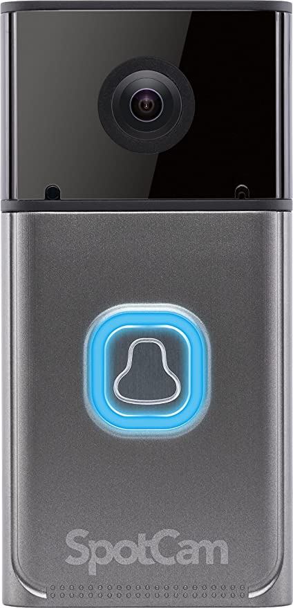 Amazon.com: SpotCam Wi-Fi Enabled Battery Powered 180 Degree HD ...