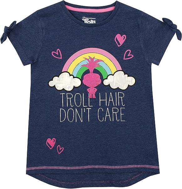 TROLLS Camiseta para niñas Poppy Azul 9-10 Años: Amazon.es: Ropa y ...