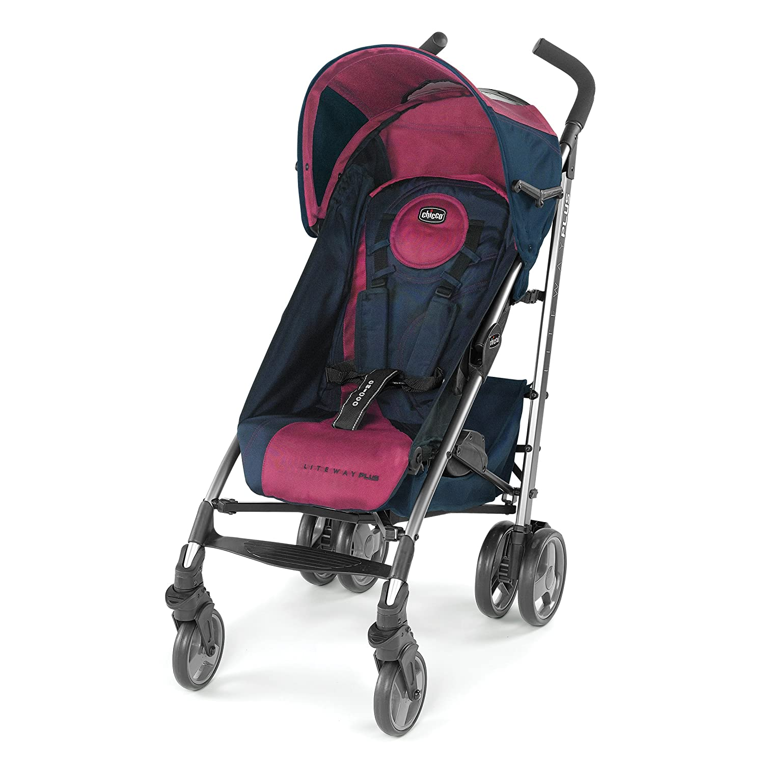 Chicco Liteway Plus Stroller, Blackberry 05079317280070
