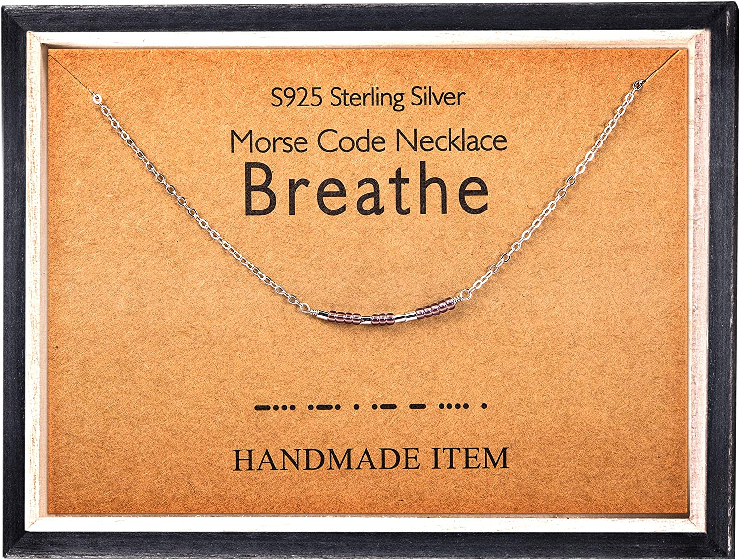 Secret Message Necklace Sterling Silver Morse Code Mother Necklace Mothers Day Gift in Morse Code Morse Code Necklace