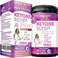 Nurse Hatty 150ct Urine Keto Strips - U.S.A. Made - High-Performance (Extended Life to 6 Months After Opening) - Perfect for All Ketogenic & Low Carb Diets + 2 Free Ketone eBooks - Urinalysis Test