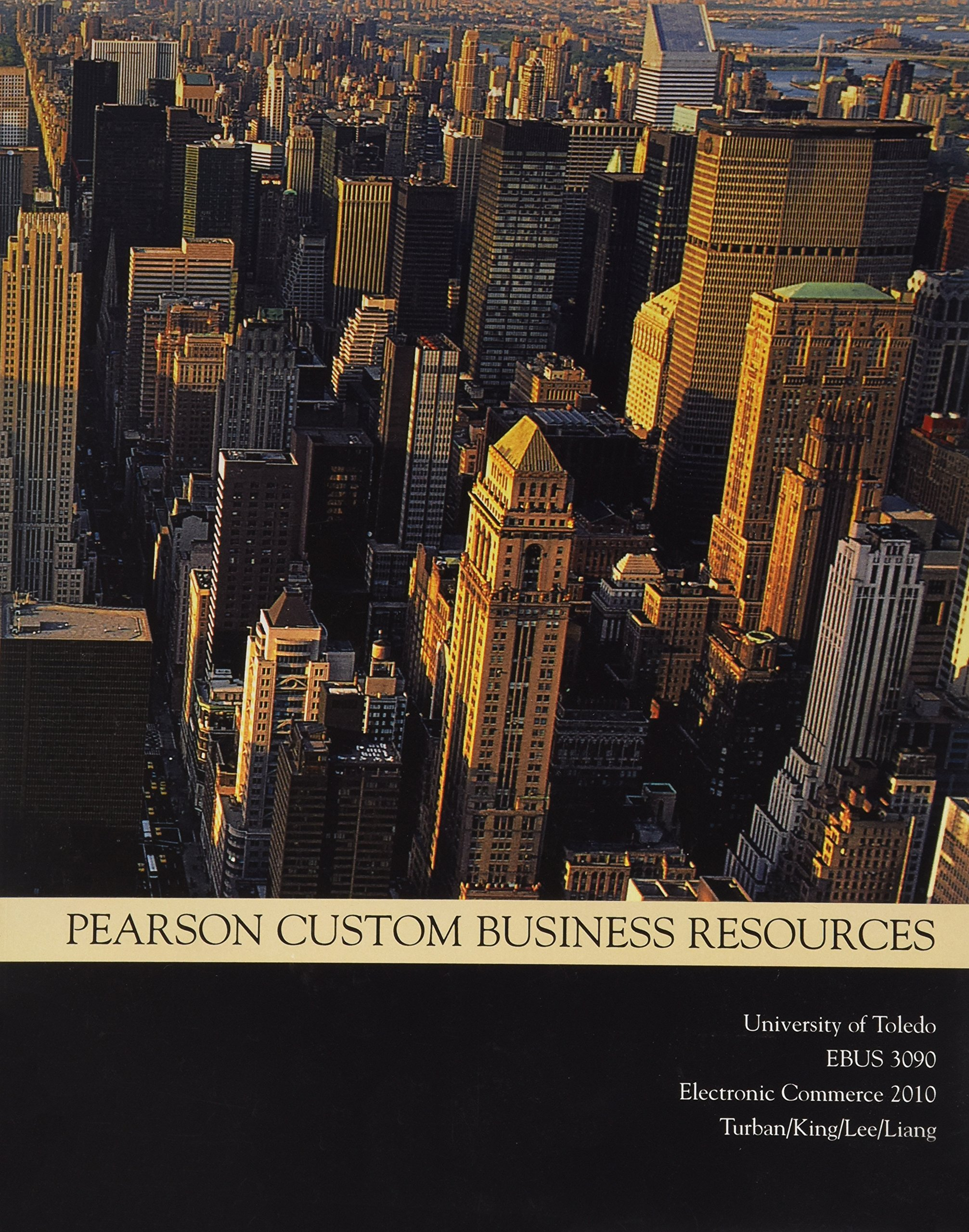 Download Pearson Custom Business Resources, Electronic Commerce 2010, University of Toledo EBUS 3090 ebook