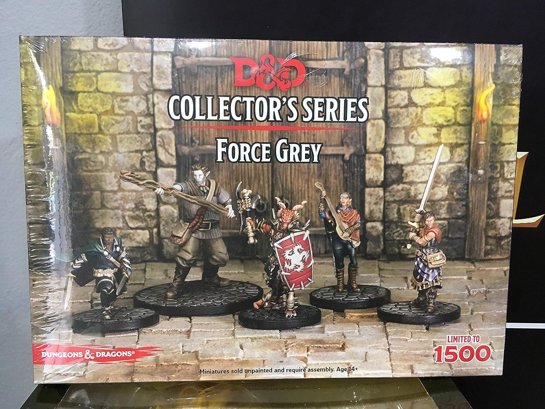 Dungeons & Dragons D&D Collectors Series Miniatures - Force Grey ...