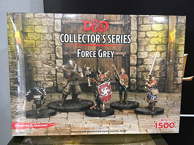 Amazon com: Dungeons & Dragons - Force Grey (5 Figures