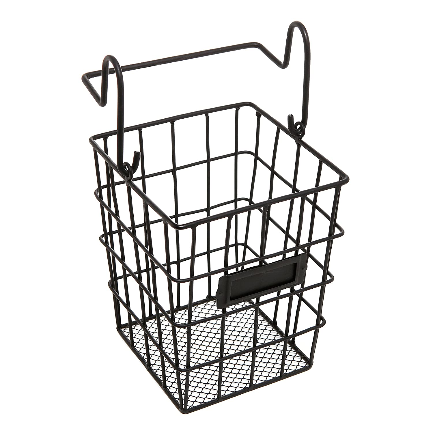 Amazon.com: Modular Black Metal Mesh Wire Hanging Kitchen & Dining ...